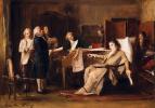 Михай Либ Мункачи. Смерть Моцарта. Эскиз
