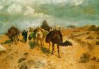 Видение востока. Караван в пустыне