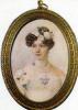 Portrait Of E. G. Chertkova. 1820