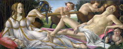 Sandro Botticelli. Venus and Mars