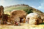 Жан-Пьер-Лоран Уэль. Горячие бани Сан Калоджеро на юго-западе Липари