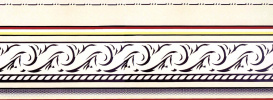 Roy Liechtenstein. The entablature