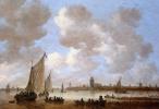 Ян ван Гойен. Вид на Дордрехт2