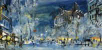 Париж зимой