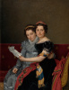 Sisters Zenaide and Charlotte Bonaparte
