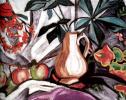 Натюрморт с кувшином и яблоками