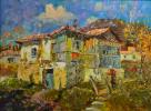 Старый дом,залитый солнцем