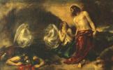 Уильям Этти. Явление Христа Марии Магдалине после Воскресения