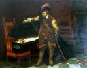 Кромвель у гроба Карла I