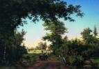 Ivan Ivanovich Shishkin. View in the environs of Petersburg