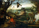 Landscape with the legend of Saint Christopher