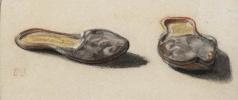 Eugene Delacroix. Etude Slippers