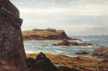 Alexey Petrovich Bogolyubov. Evening in Saint-Malo