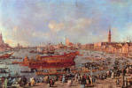 Франческо Гварди. Отплытие Букентавра в Лидо