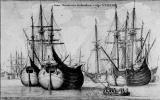Венцель Холлар. Голландский торговый корабль