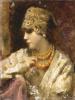 Портрет дамы в русском костюме.  1931