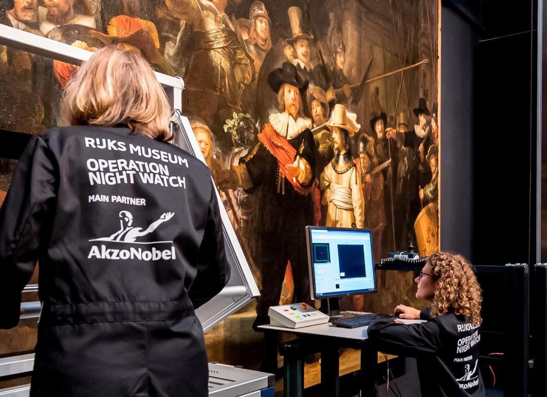 Реставрацию «Ночного дозора» Рембрандта начал музей в Амстердаме