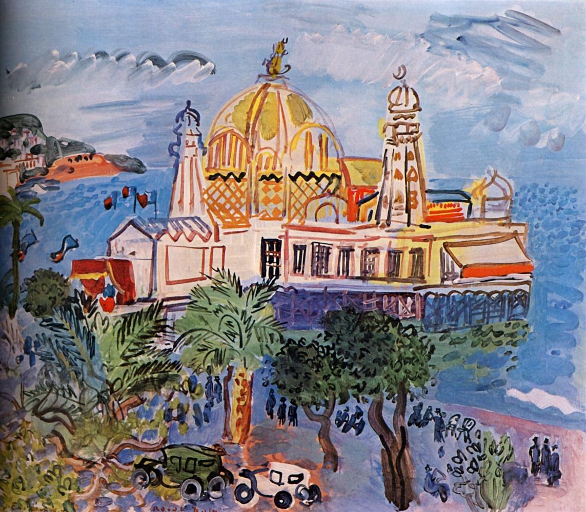 Фестиваль в Ницце в честь Английской набережной - с вернисажами Дюфи, Шагала и Матисса