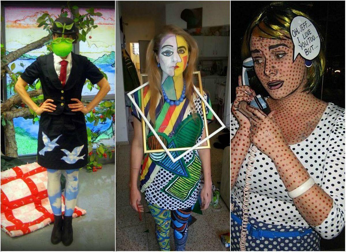 Хит-парад костюмов по картинам художников к Хэллоуину