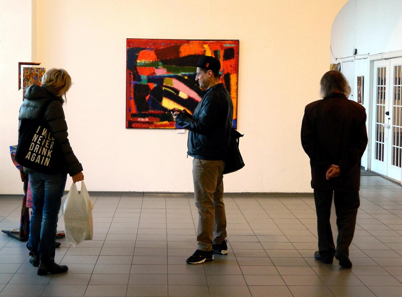 И снова о Малевиче: в киевском Доме художника удивили, выставив две сотни «абстракций»