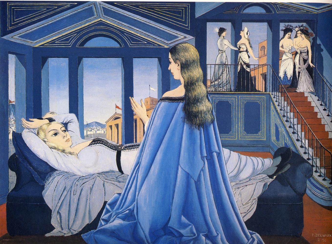 Сон в музее – сюрреализм?