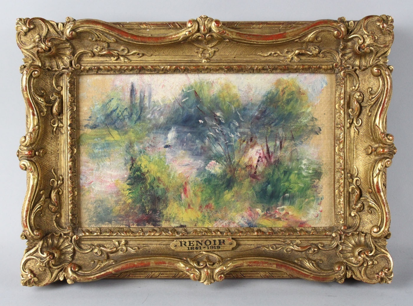 Картина с барахолки - Ренуар?! Аукциона не будет: отдай музею!