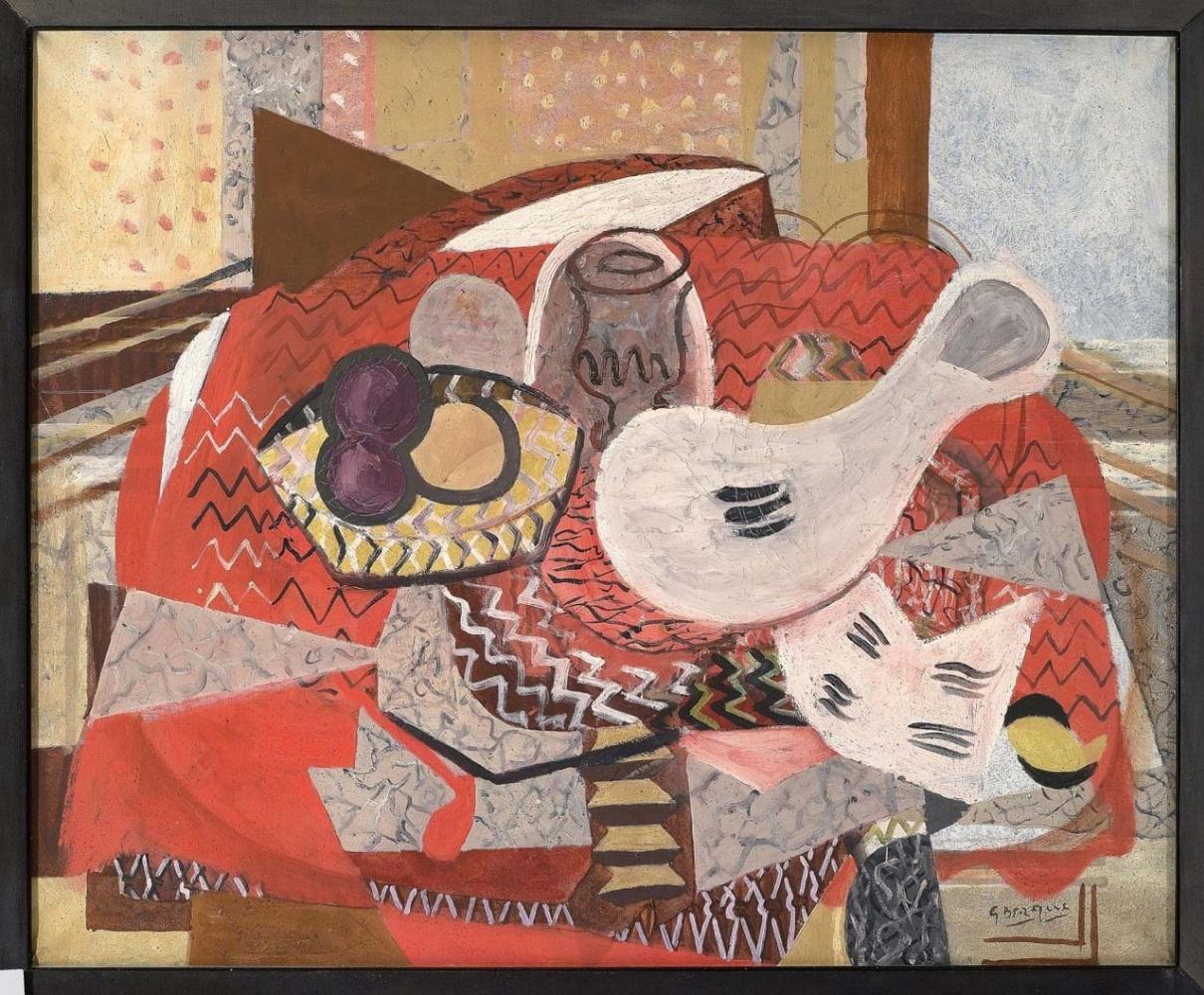 Жорж Брак: амбициозная ретроспектива в Музее Гуггенхайма