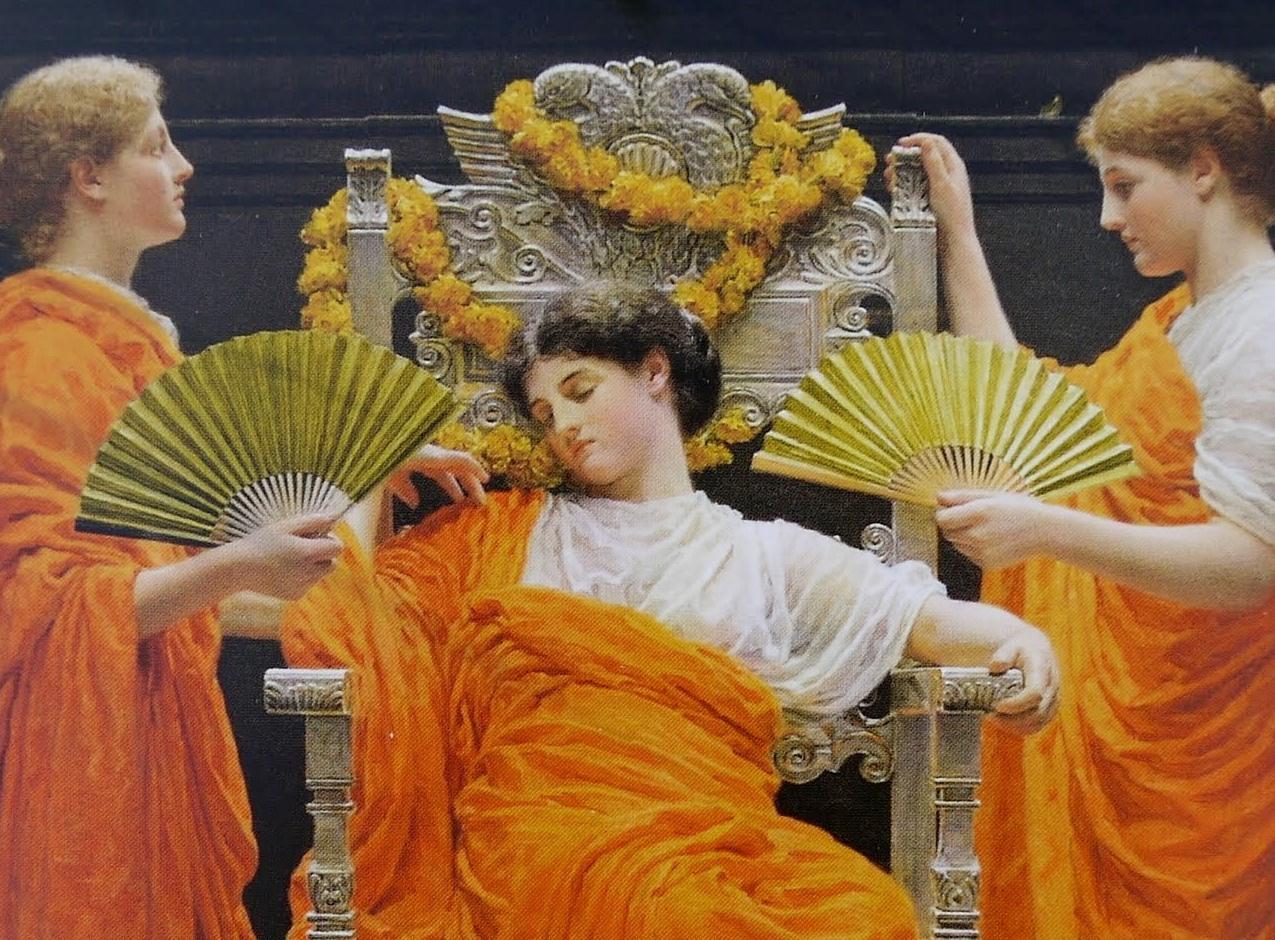 Галерея в Йорке представляет викторианца Альберта Мура и собирает миллионы на покупку картины