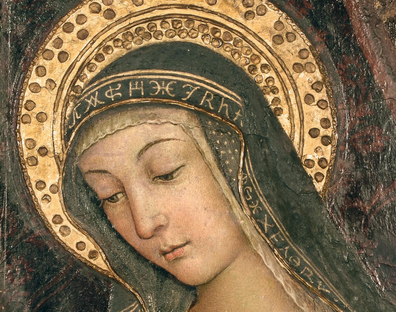В Риме впервые демонстрируют Мадонну с лицом любовницы Папы