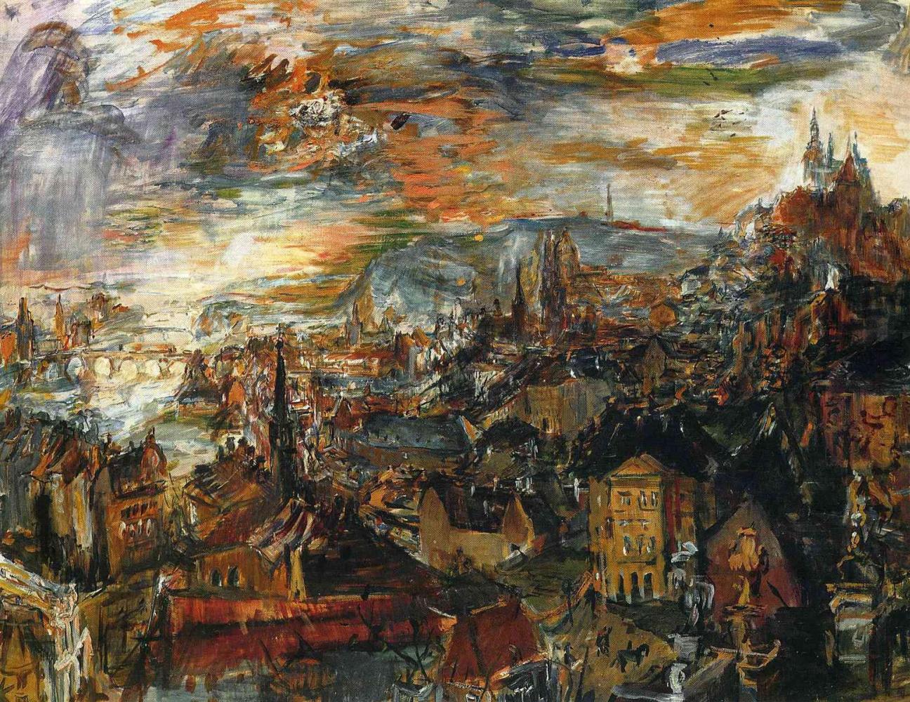 """""""Кокошка и Прага"""": неизвестные истории об известном художнике и его городе"""