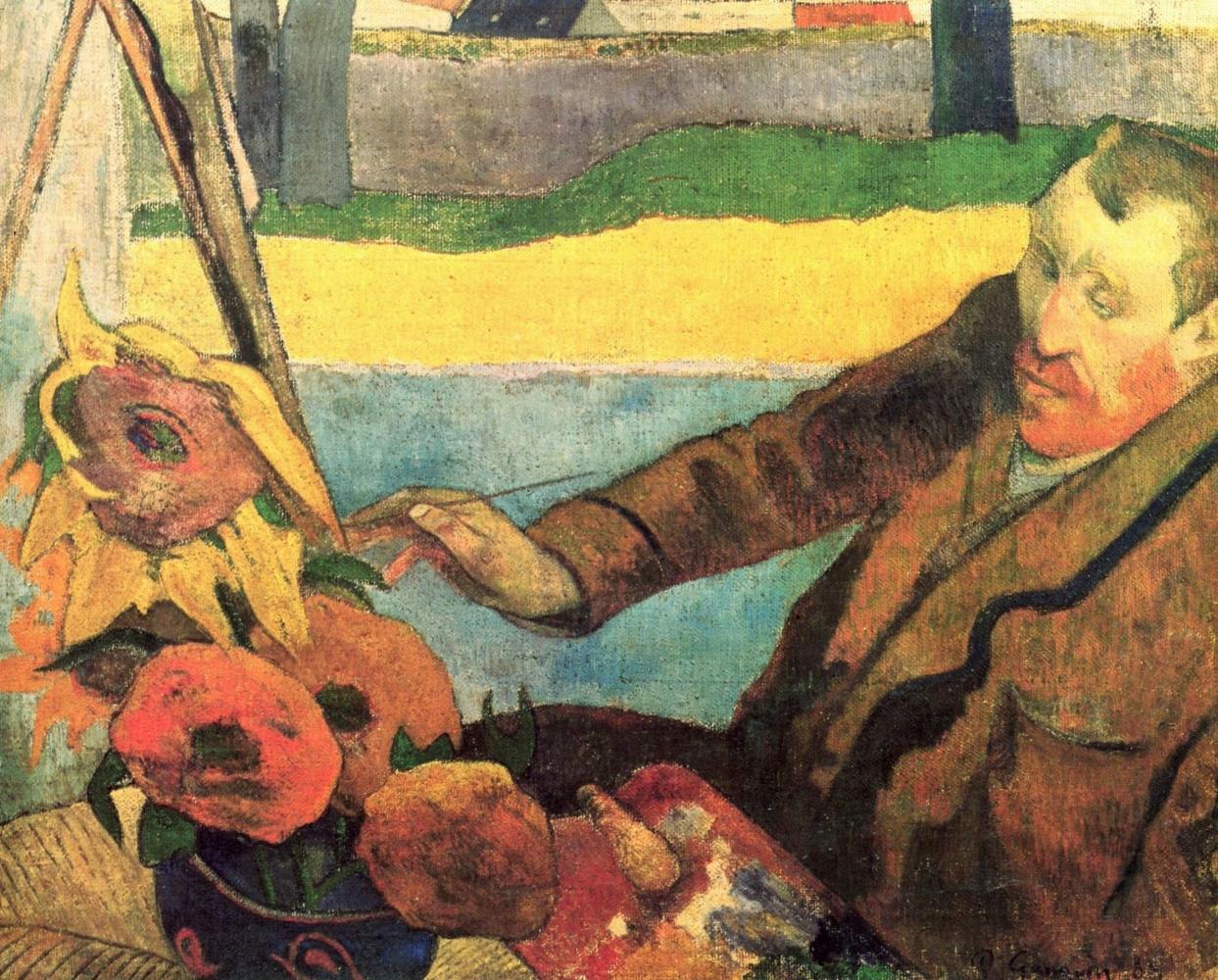 Подсолнухи Ван Гога: картины-близнецы в Лондоне - найдете отличия?