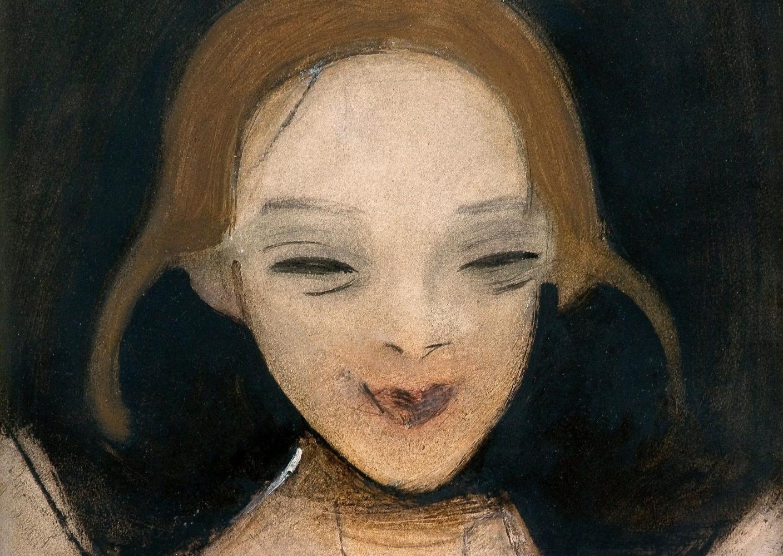 «Улыбающаяся девушка» (1921)