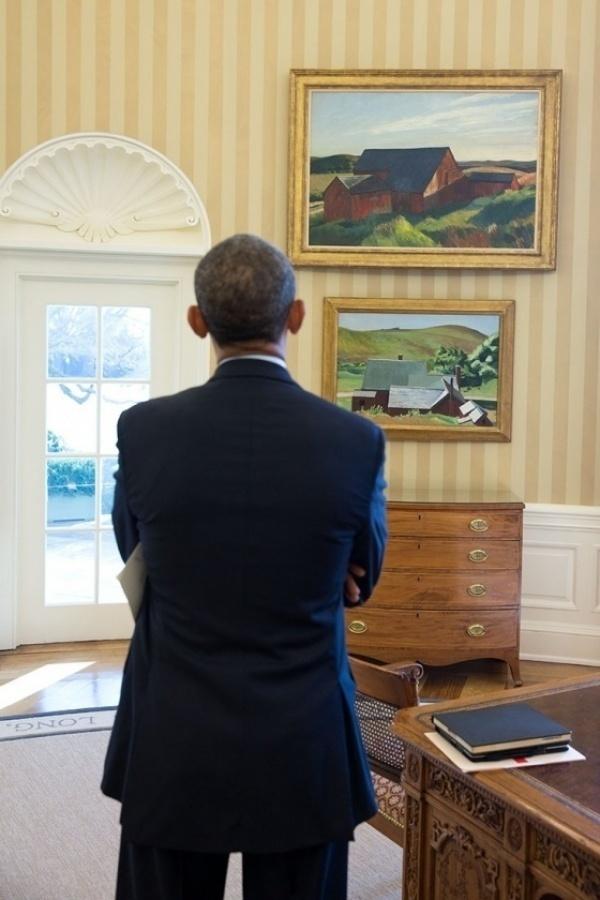 Белый дом как картинная галерея: что любит Обама-новатор?