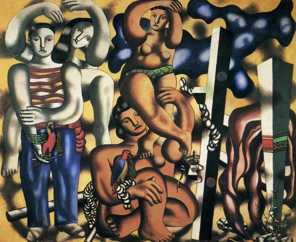 Гигантские полотна в Центре Помпиду-Метц: Леже, Пикассо - занавес!