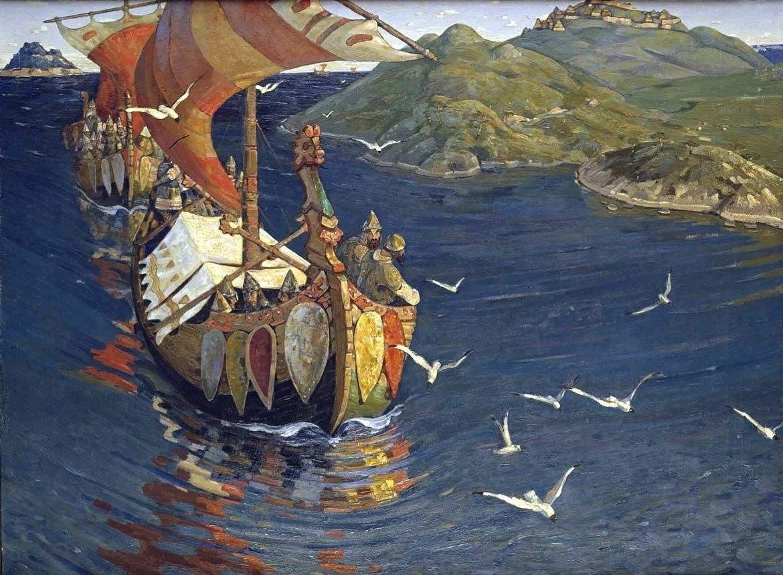 Крупнейшая выставка работ Николая Рериха в Русском музее: путь мыслителя