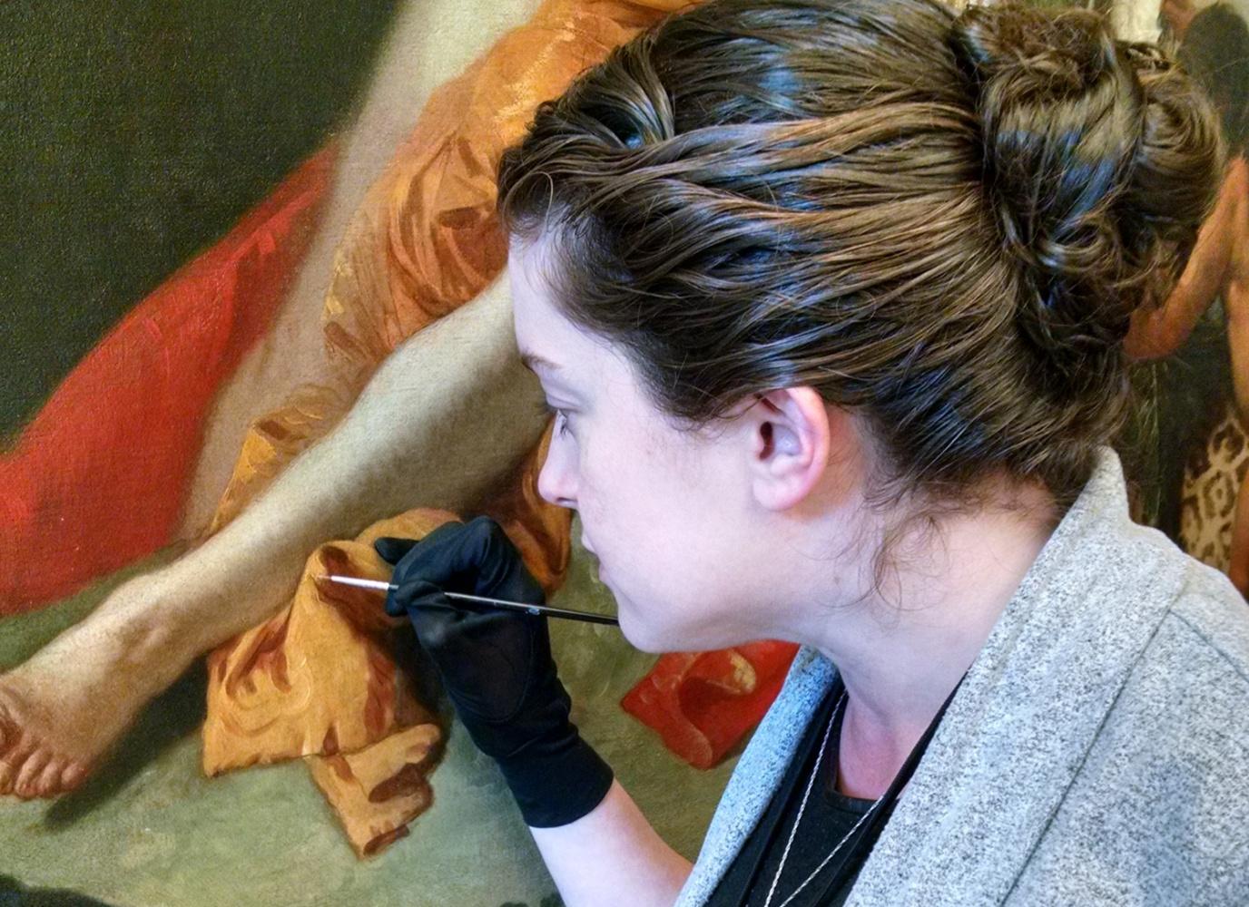 Картина «Вакх и Ариадна» Тьеполо раскрыла свои секреты реставраторам