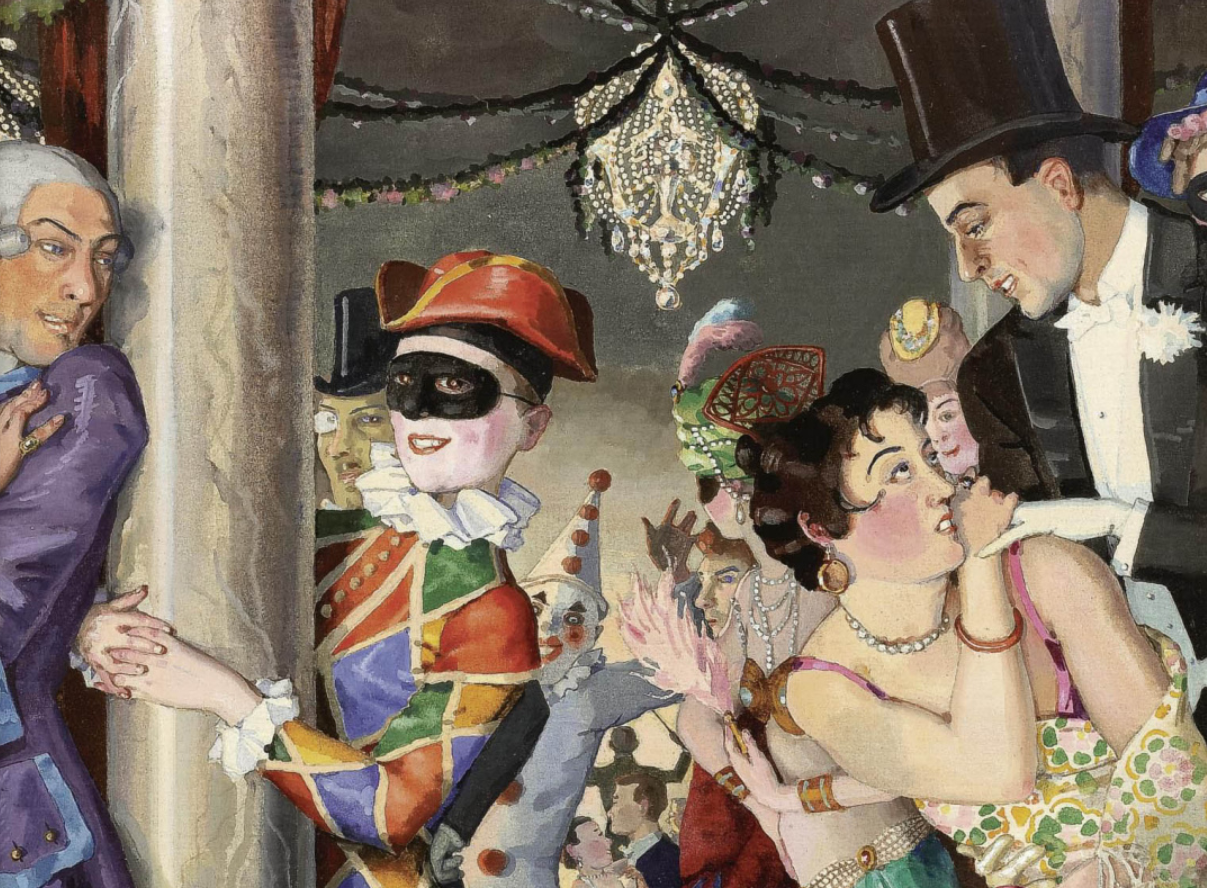 """Konstantin Somov: 10 Facts from the life of the """"Gallant Scenes"""" master"""