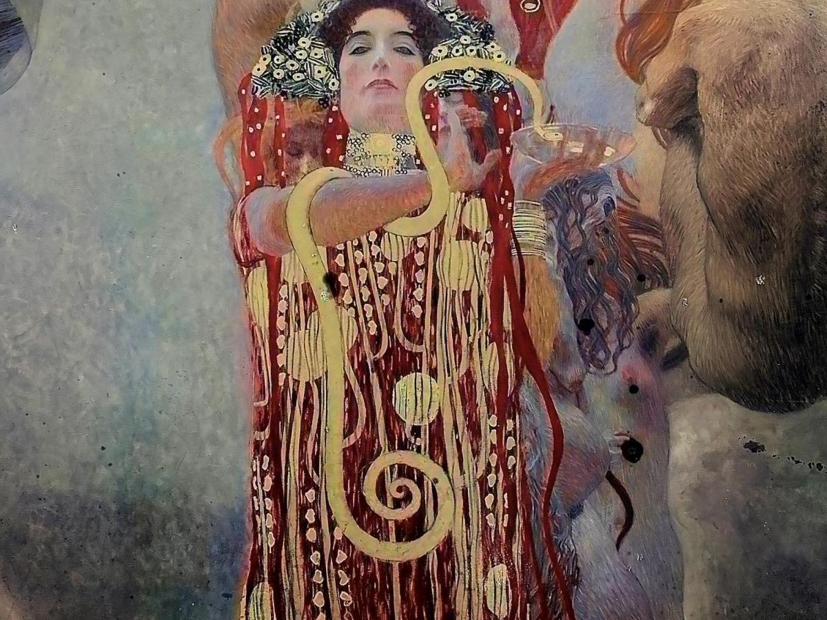 Три утраченные картины Густава Климта «воскресил» искусственный интеллект