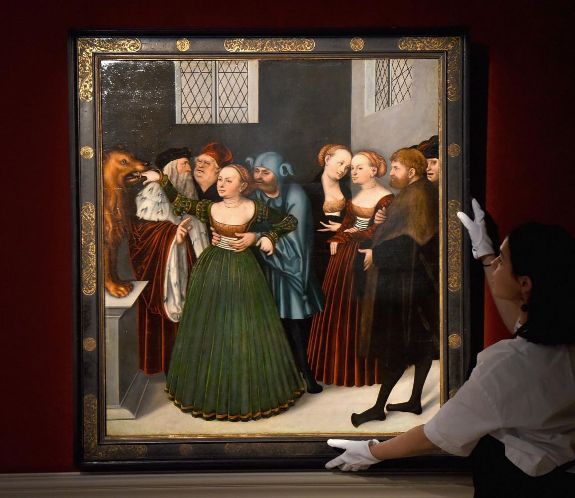 """""""Уста истины"""" Кранаха-старшего на  Sotheby's поставили рекорд стоимости работ художника"""