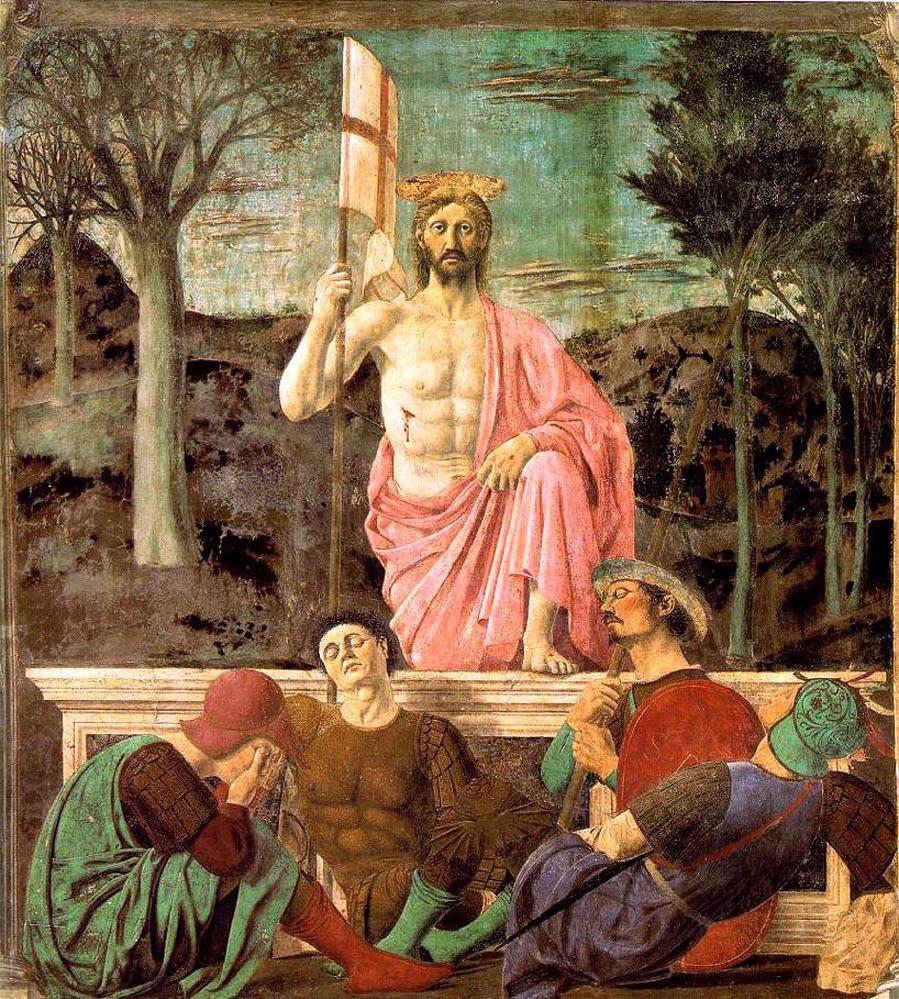 Картинки по запросу пьеро делла франческа воскресение христово