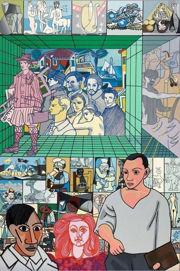Внучка Пикассо откроет выставку, посвящённую влиянию своего деда на культуру XX века