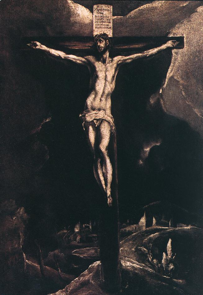 Domenico Theotokopoulos (El Greco). Christ on the cross