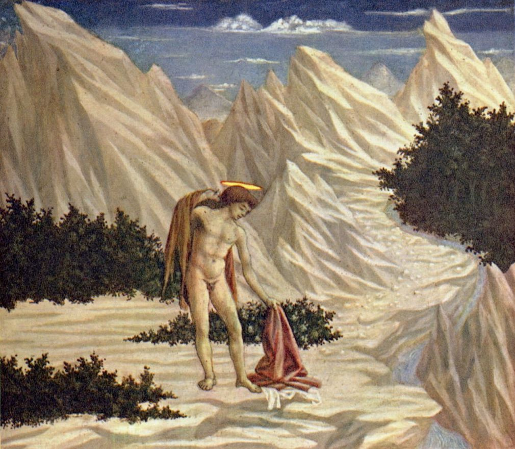 Доменико Венециано. Св. Иоанн в пустыне