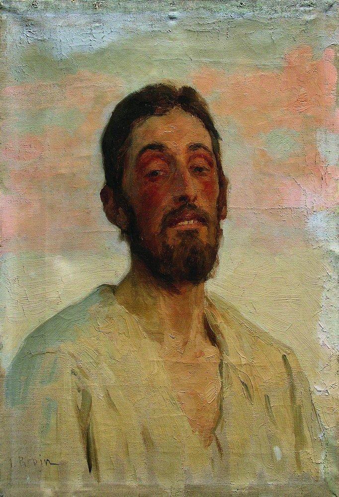 Илья Ефимович Репин. Мужской портрет