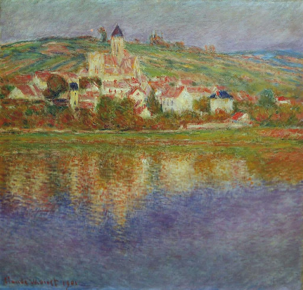 Claude Monet. Nice, pink effect