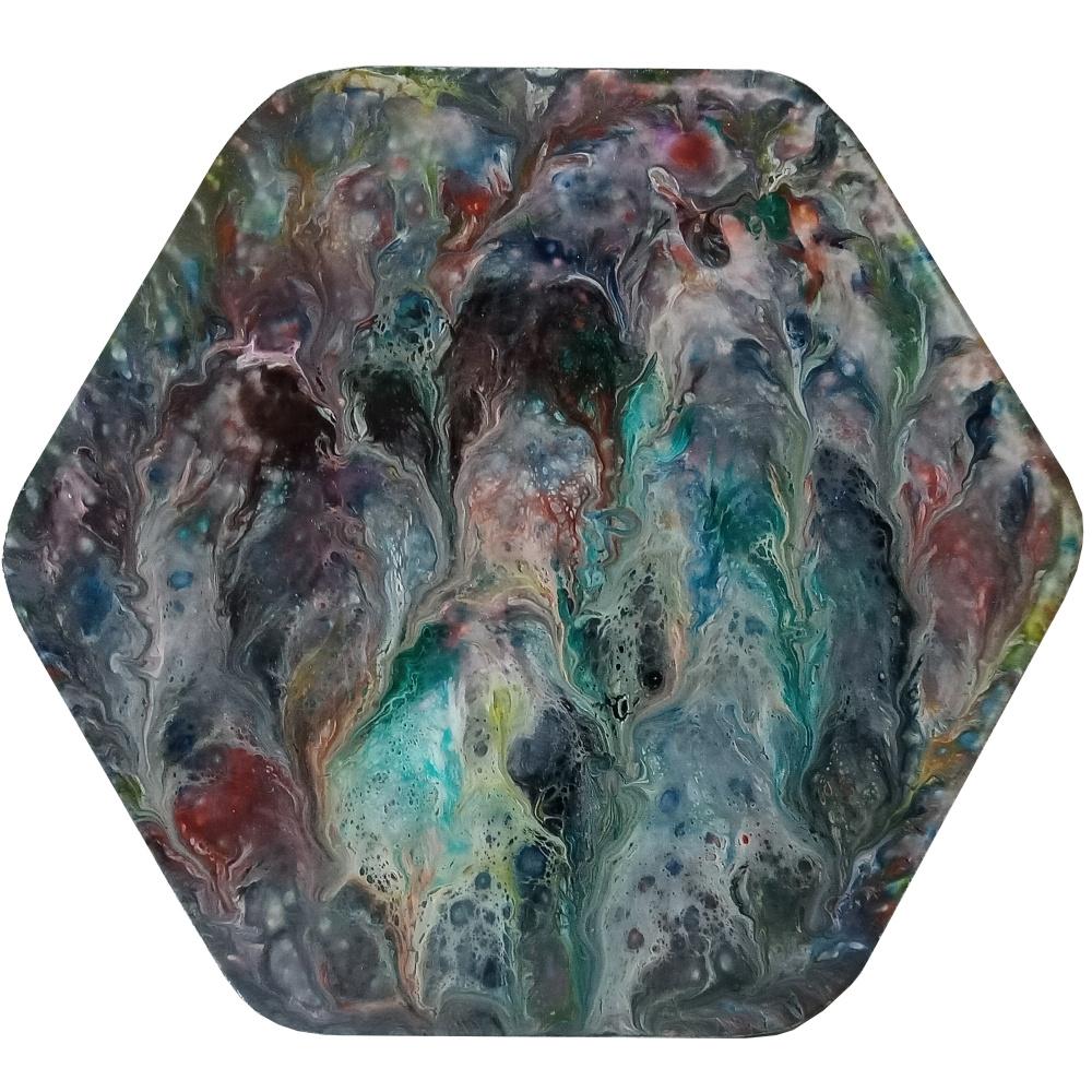 Vasiliy Mishchenko. Abstract 0127 Acrylic