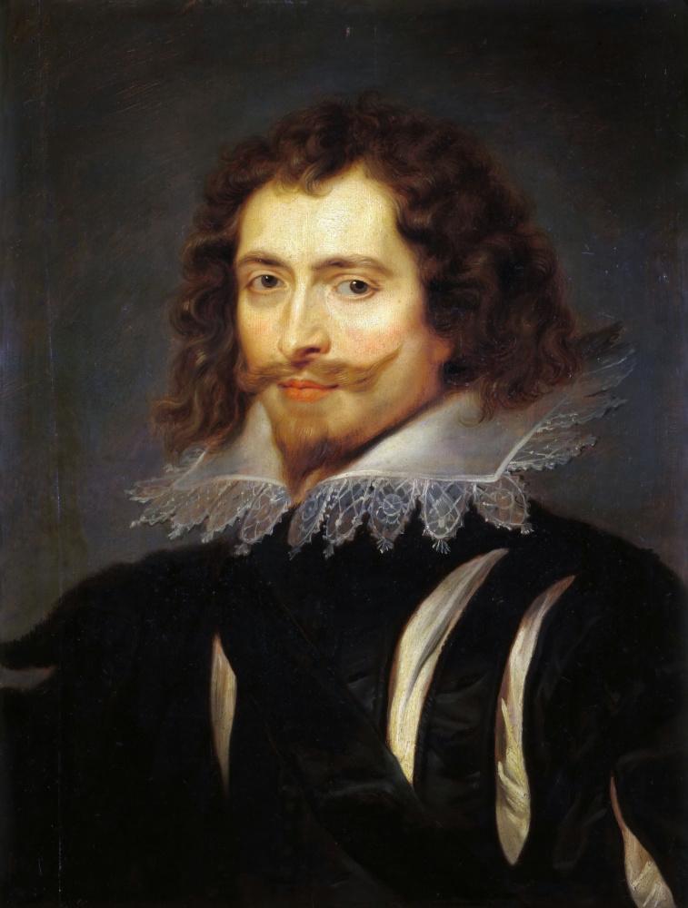Peter Paul Rubens. Portrait of George Villiers, Duke of Buckingham
