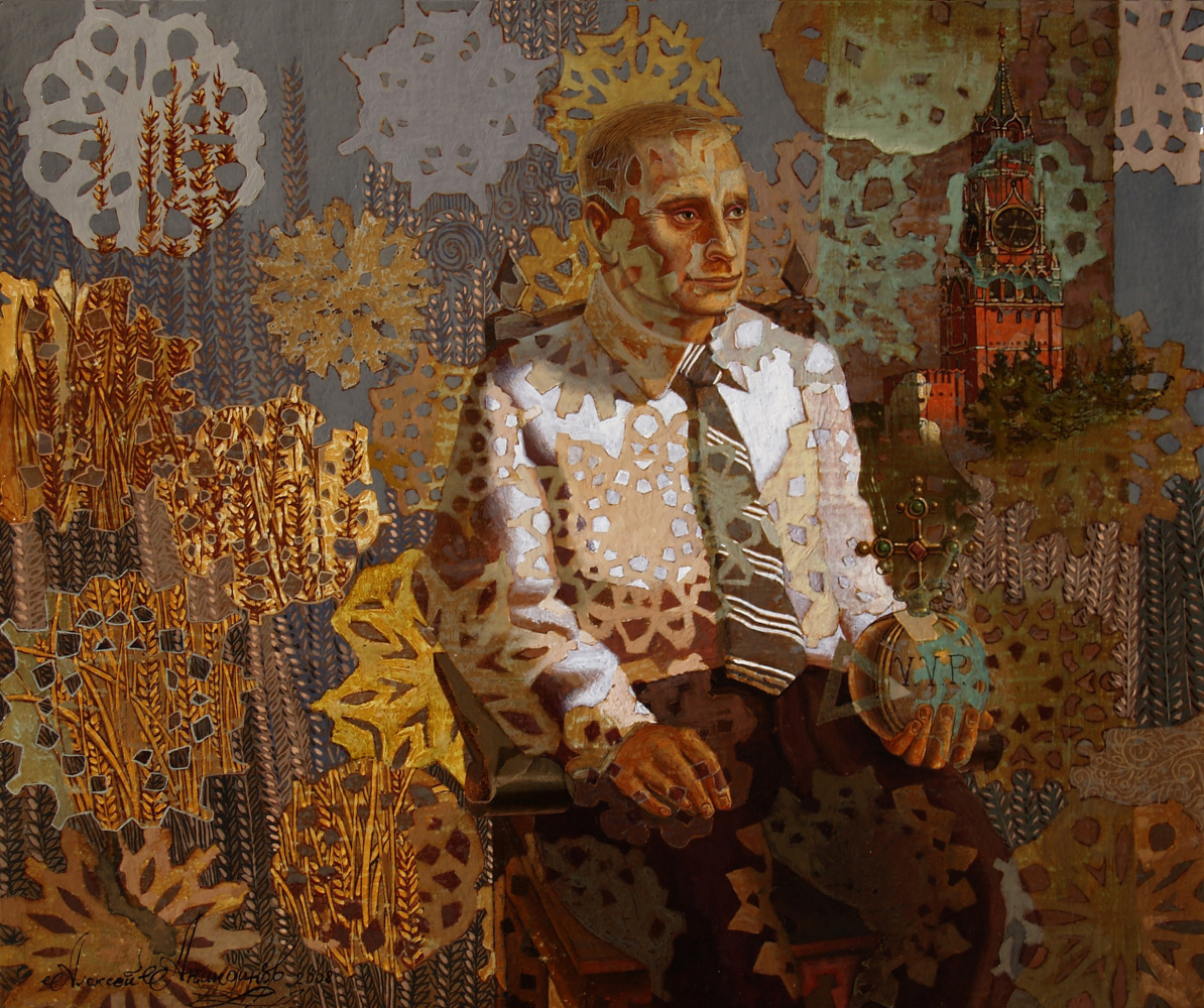 Алексей Петрович Акиндинов. Portrait of Vladimir Vladimirovich Putin