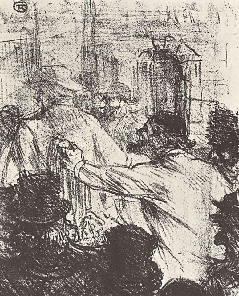 Анри де Тулуз-Лотрек. Замена постельного белья