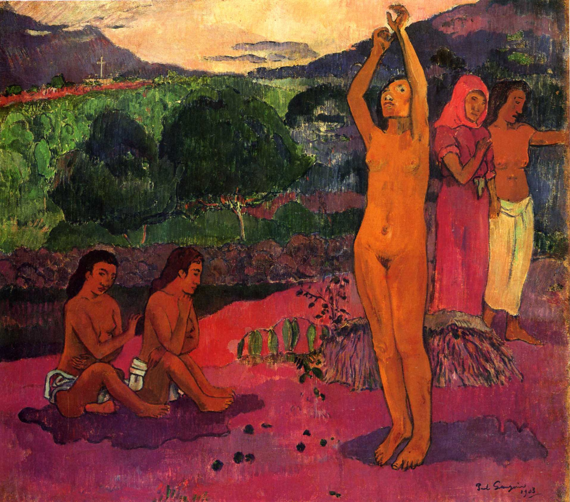 Paul Gauguin. Spell
